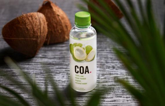 Coa Kokosnusswasser Cover Portfolio Cover