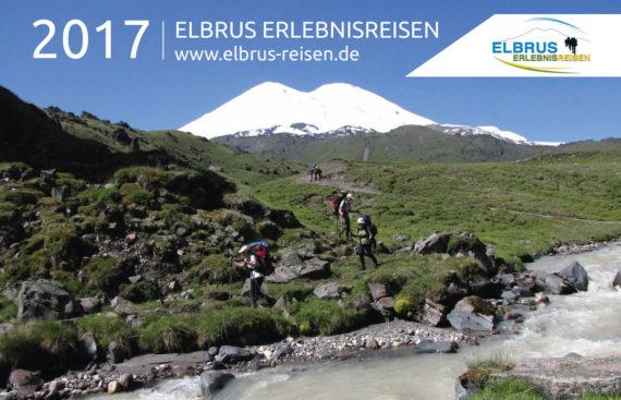 Elbrus Reisen Broschüre Cover