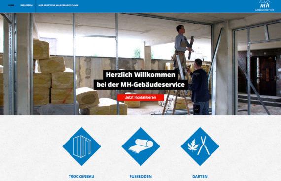 MH Gebaeudeservice Portfolio Cover
